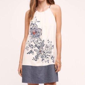 Dresses & Skirts - Anthropologie Floreat Sava silk halter dress